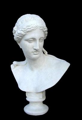 Atena di arles di prassitele busto da giardino per esterno - Statue da giardino in resina ...