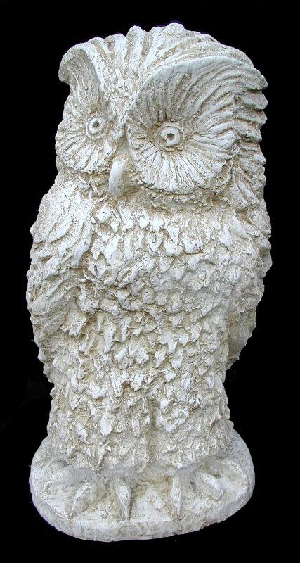 Gufo statue animali da giardino - Statue da giardino in resina ...